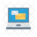 Laptop Screen Mail Icon
