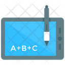 Abc Alphabets Online Education Icon