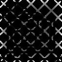 Database Processing Analytics Icon