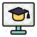 Online Study Online Education Online Learning Icon