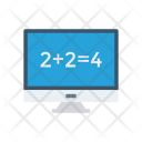 Screen Mathematics Calculation Icon