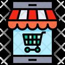Online Supermarket Online Shopping Online Sales Icon