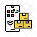 Phone Supply Chain Icon