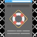 Online Lifebuoy App Icon
