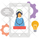 Online Consulting Online Support Support Service Icon