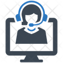 Online Support Consultant Icon