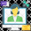 Customer Representative Call Centre Customer Service Icon