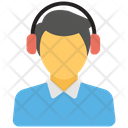 Customer Support Customer Care Call Service Icon