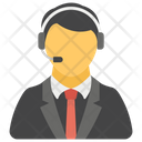 Online Support Customer Care Call Service Icon