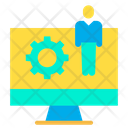 Online Assistant Support Assistant Computer Icon
