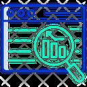 Online Survey Online Analytics Online Search Icon