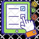 Questionnaire Online Survey Form Icon