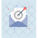 Online Target Email Icon