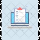 Online Task List Target List Online Todo List Icon