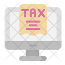 Online Tax Icon