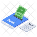 E Tax Online Tax Online Tax Payment Icon
