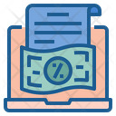 Online Tax Payment Icon