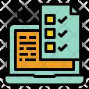 Online Tax Return Icon