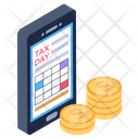 Online Taxes Pay Icon