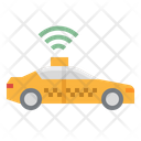 Online Taxi Icon