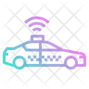Taxi Stop Post Icon