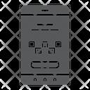 Taxi Mobile Service Icon