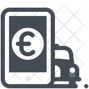 Online Taxi Payment Icon