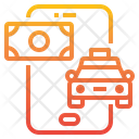 Payment Taxi Service Icon