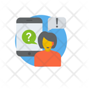 Online Teaching Online Study Distance Learning Icon