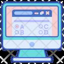 Online Tests Test Paper Result Icon