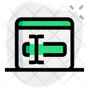 Online Text Edited Icon