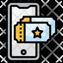 Online Ticket Icon
