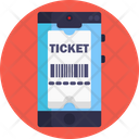 Public Transport Ticket Mobile Icon