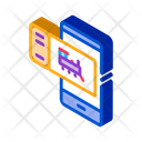Electronic Train Ticket Icon