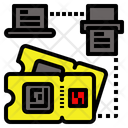 Data Qrcode Printing Icon