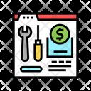 Repair Toolkit Repair Department Icon