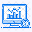 Online Trading Online Investment Online Business Icon