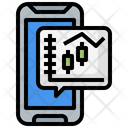 Online Trading Trading Smartphone Icon