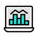Online Trading Trading Graph Online Graph Icon