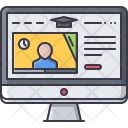 Online Training Lesson Icon