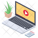 Online Training Video Video Tutorial Video Guide Icon