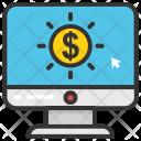 Online Transaction Etransaction Icon