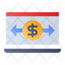 Online Transaction Payment Transaction Online Icon