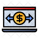 Online Transaction Payment Icon