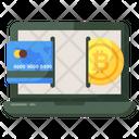 Online Transaction Digital Transaction E Banking Icon
