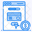 Online Transaction Banking Website Financial Web Icon