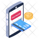 Mobile Transaction Online Transaction Online Payment Icon