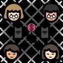 Online Transaction Family Parents Icon
