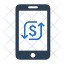 Online Transaction Mobile Icon