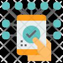 Online Transaction Check Icon